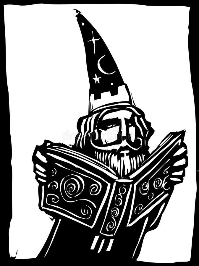 Download чудодей книги иллюстрация вектора. иллюстрации насчитывающей чудодей - 18397606