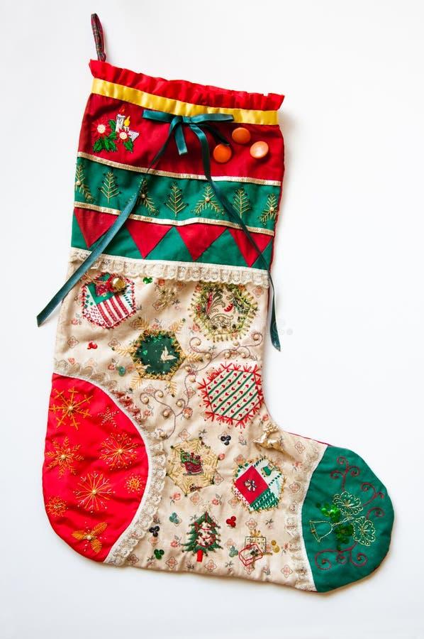 Чулок рождества. стоковые изображения