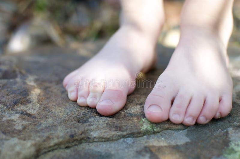 чуть-чуть ноги немногая стоковая фотография