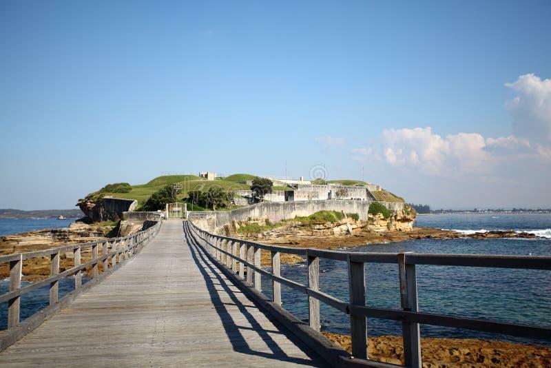 Чуть-чуть остров - Австралия стоковое изображение