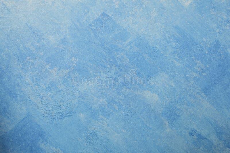 Чуть-чуть предпосылка стены гипсолита, голубые обои стоковые изображения
