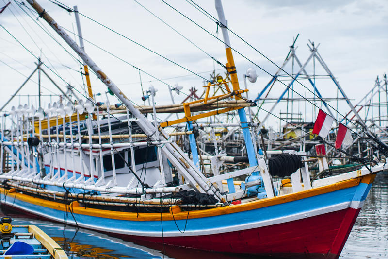 Чудесный корабль Traditionl стоковые изображения