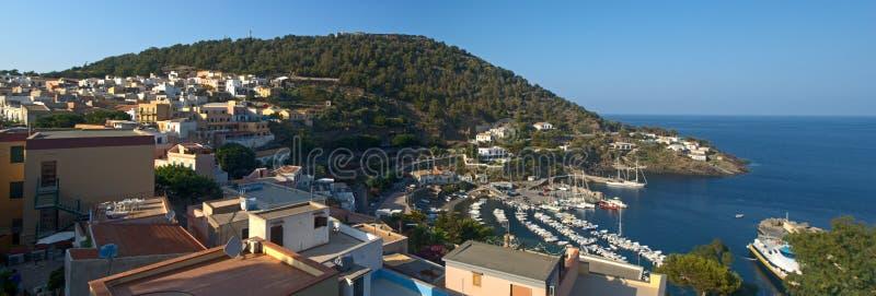 Чудесный остров Ustica стоковые изображения rf