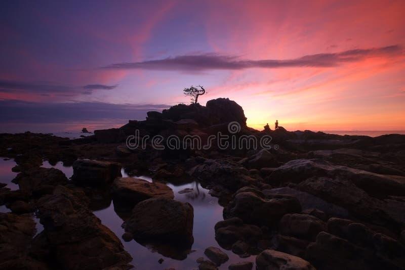 Чудесный пейзаж на острове Labuan стоковое изображение rf