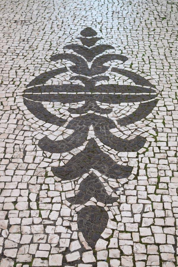 Чудесный флористический дизайн по причине мест и улиц, увиденных в Фуншале, Мадейра, Португалия стоковое фото rf