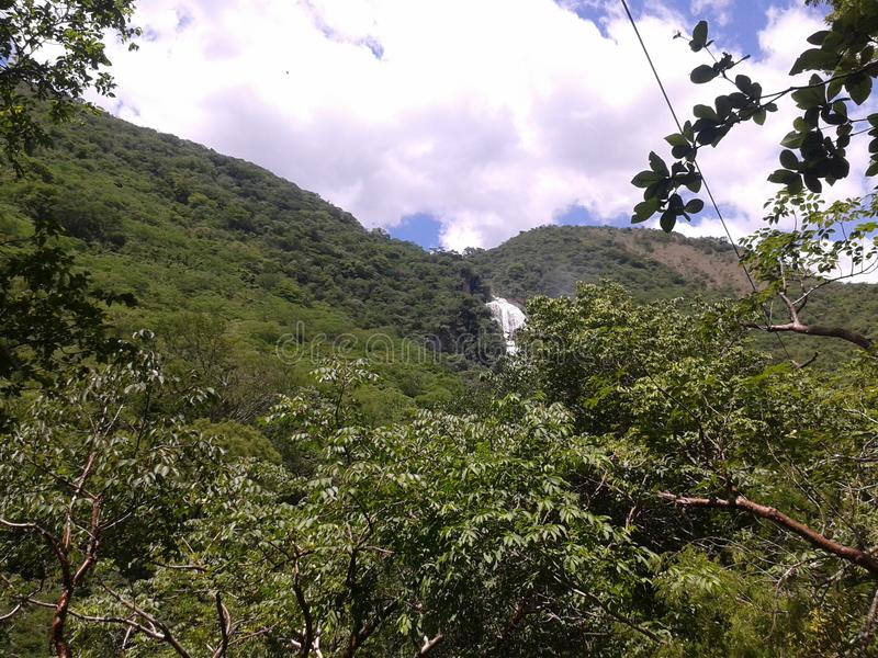 Чьяпас, водопад ³ n chiflà стоковое изображение