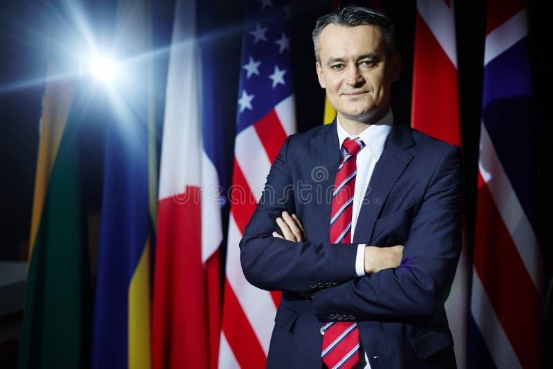 Член политической партии стоковое изображение rf