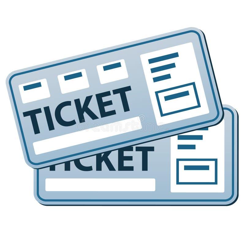 Шаблон билетов пропуска бесплатная иллюстрация