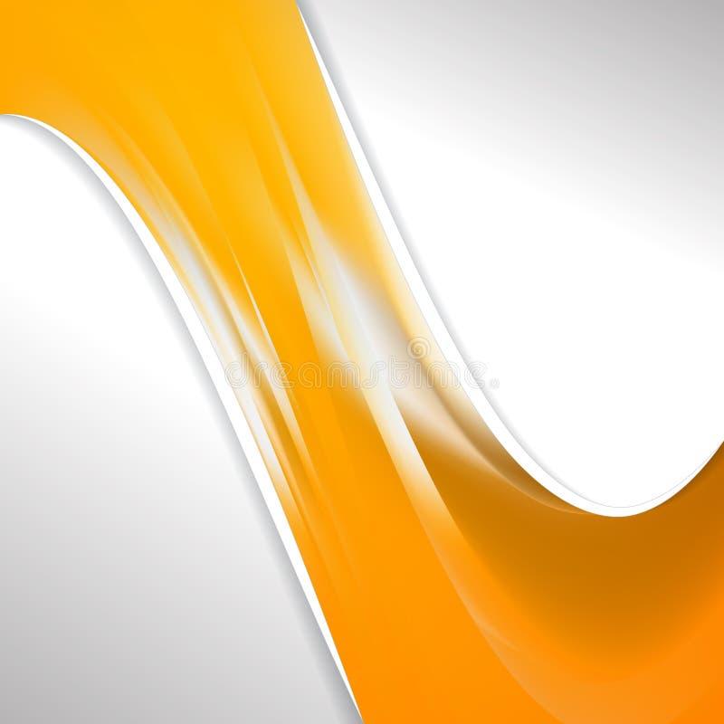 Шаблон брошюры 'Оранжевый бизнес' бесплатная иллюстрация