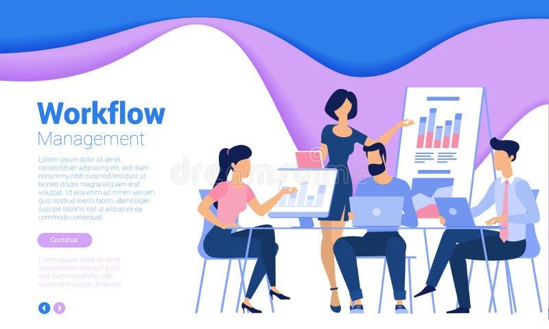 Шаблон дизайна интернет-страницы иллюстрация штока