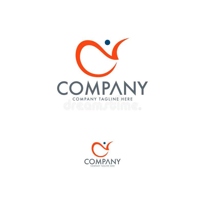 Шаблон дизайна логотипа письма v элиты иллюстрация штока