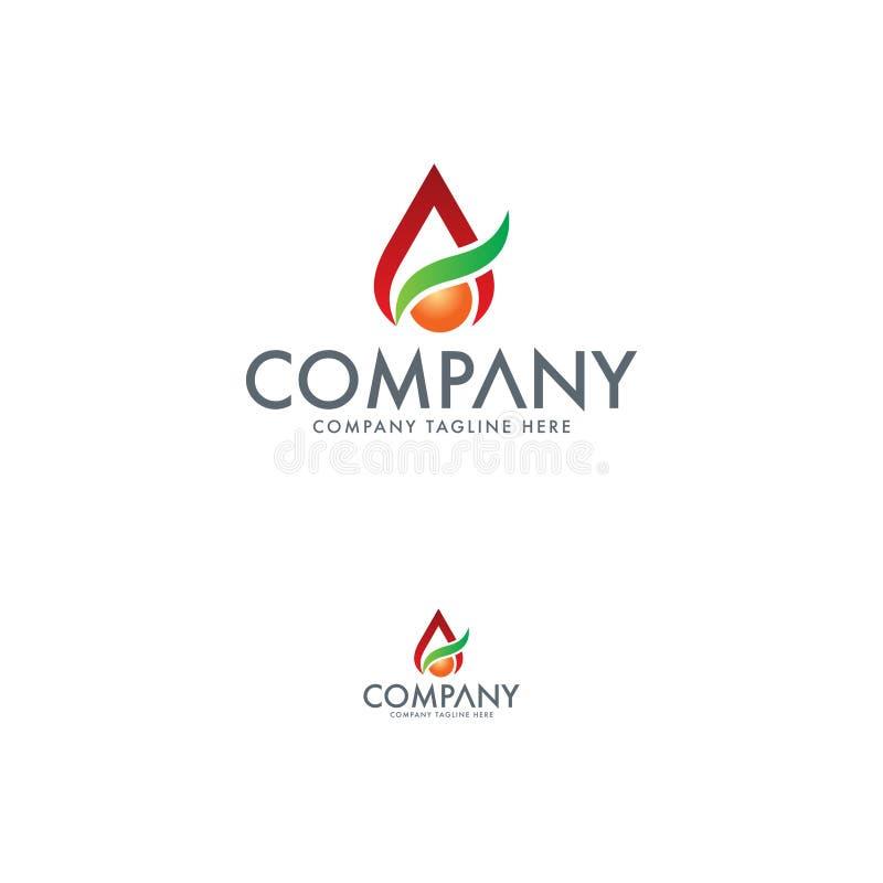 Шаблон дизайна логотипа свежих продуктов иллюстрация вектора