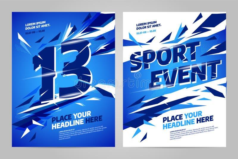 Шаблон дизайна плана вектора для спорта
