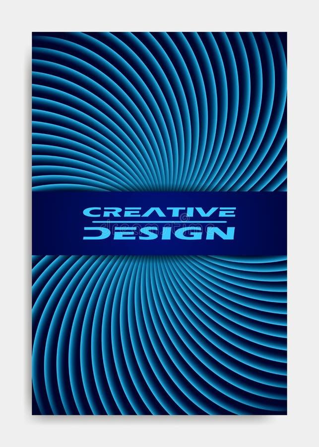 Шаблон для представления украшения, брошюра дизайна крышки, каталог, плакат, книга, журнал бесплатная иллюстрация
