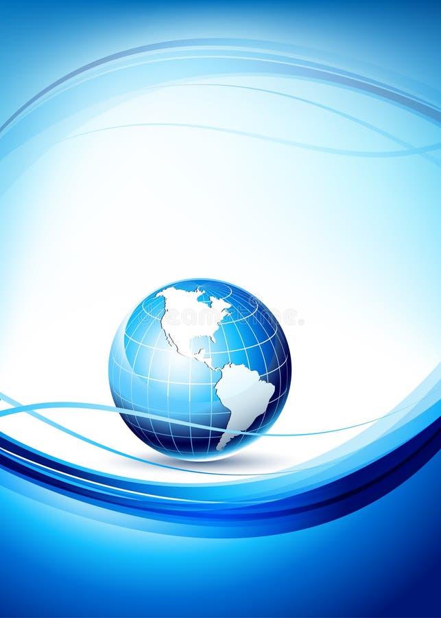 шаблон иконы глобуса земли конструкции 3d шикарный иллюстрация штока