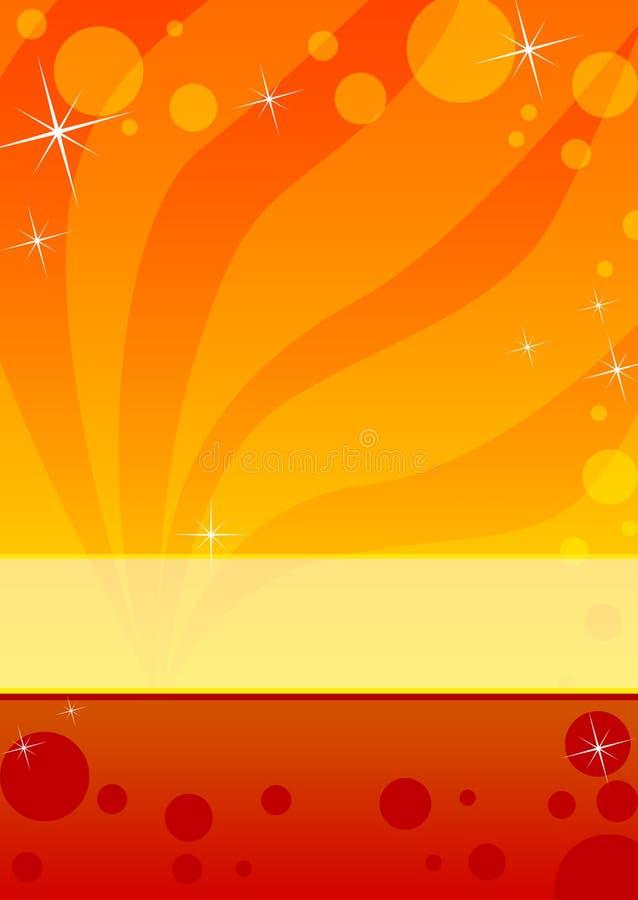 шаблон листовки рогульки иллюстрация штока