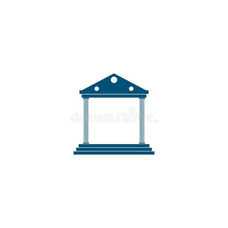 шаблон логотипа вектора значка банка бесплатная иллюстрация