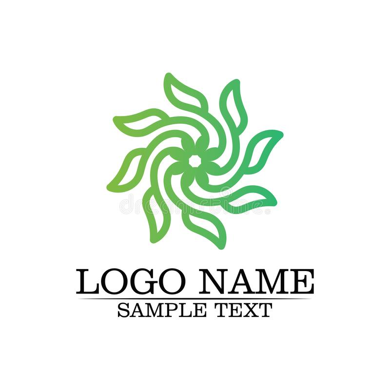 Шаблон логотипа лист дерева Eco бесплатная иллюстрация