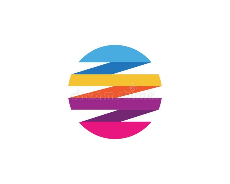 Шаблон логотипа мира провода бесплатная иллюстрация