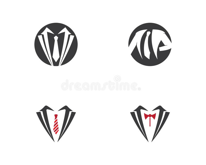 Шаблон логотипа одежды иллюстрация штока
