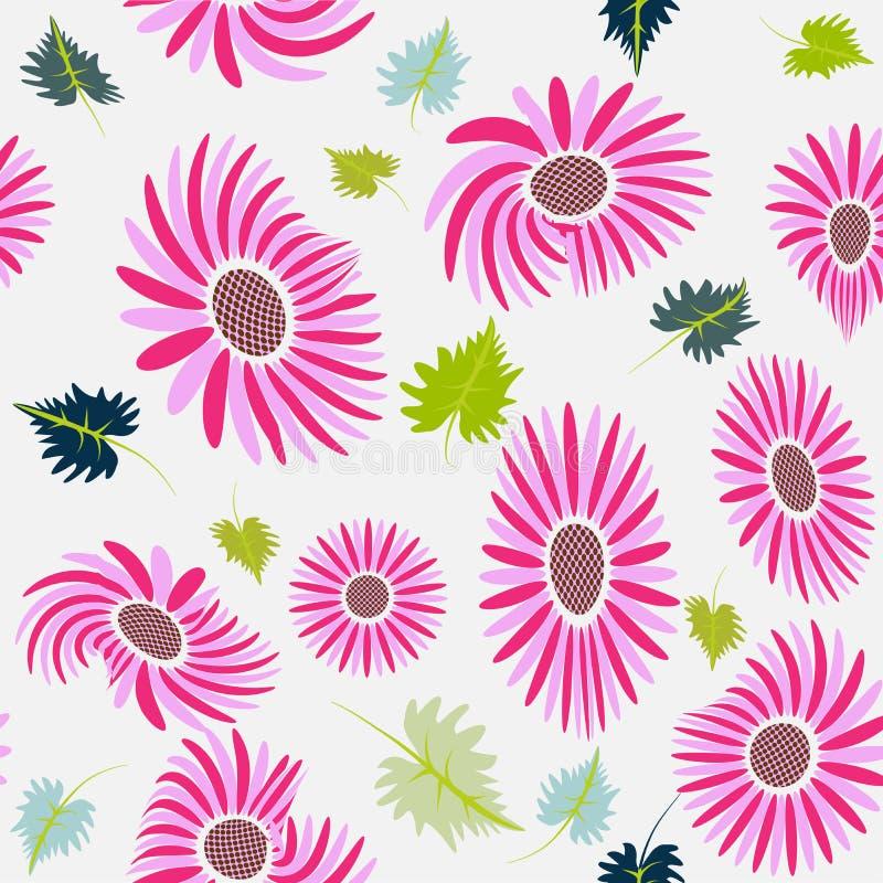 Шаблон предпосылки изображения рамки цветков бесплатная иллюстрация
