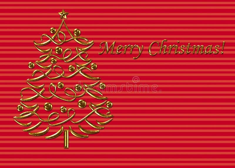 шаблон рождества карточки стоковое изображение
