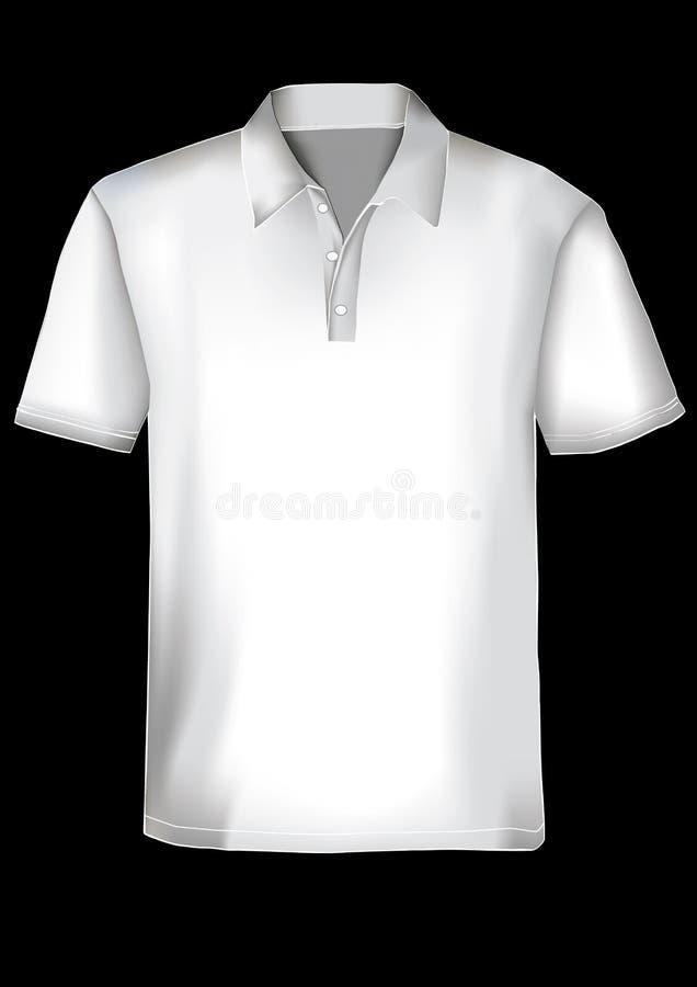 шаблон рубашки поло конструкции бесплатная иллюстрация