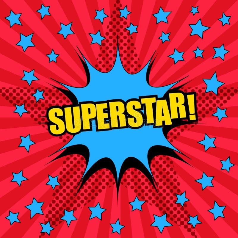Шаблон формулировок суперзвезды шуточный бесплатная иллюстрация