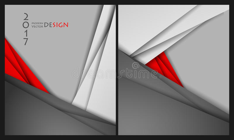Шаблоны брошюр вектора бесплатная иллюстрация