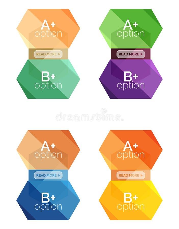 Download Шаблоны варианта Infographic Иллюстрация вектора - иллюстрации насчитывающей идея, творческо: 81805527