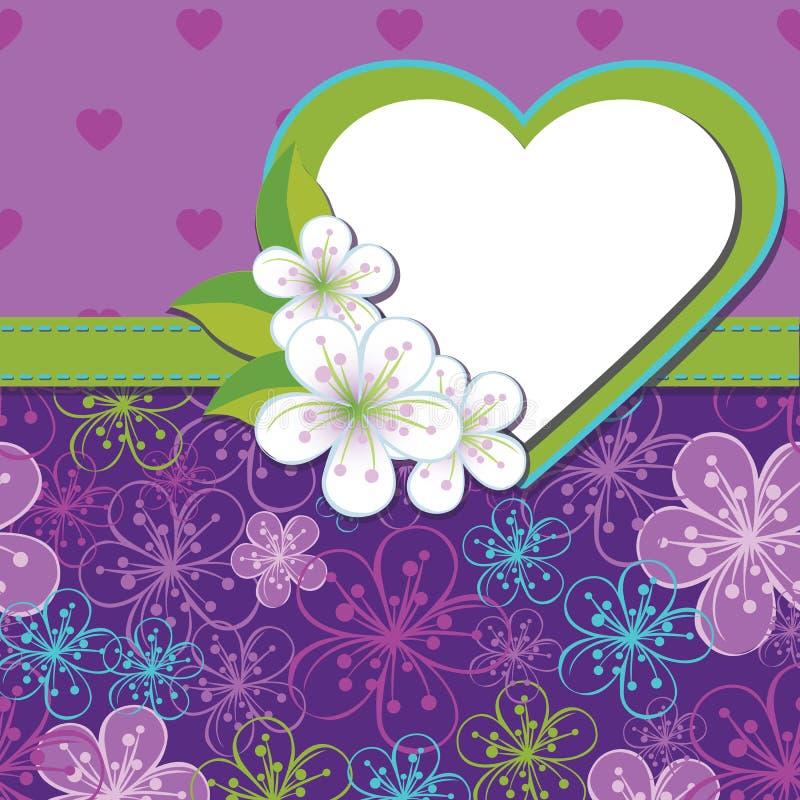 Download Шаблон дизайна весны. Вишня цветет предпосылка A Иллюстрация вектора - иллюстрации насчитывающей girlish, весна: 37927719