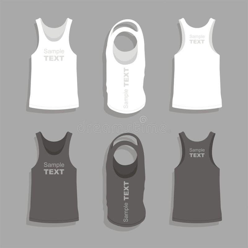 Шаблон дизайна футболки людей иллюстрация вектора