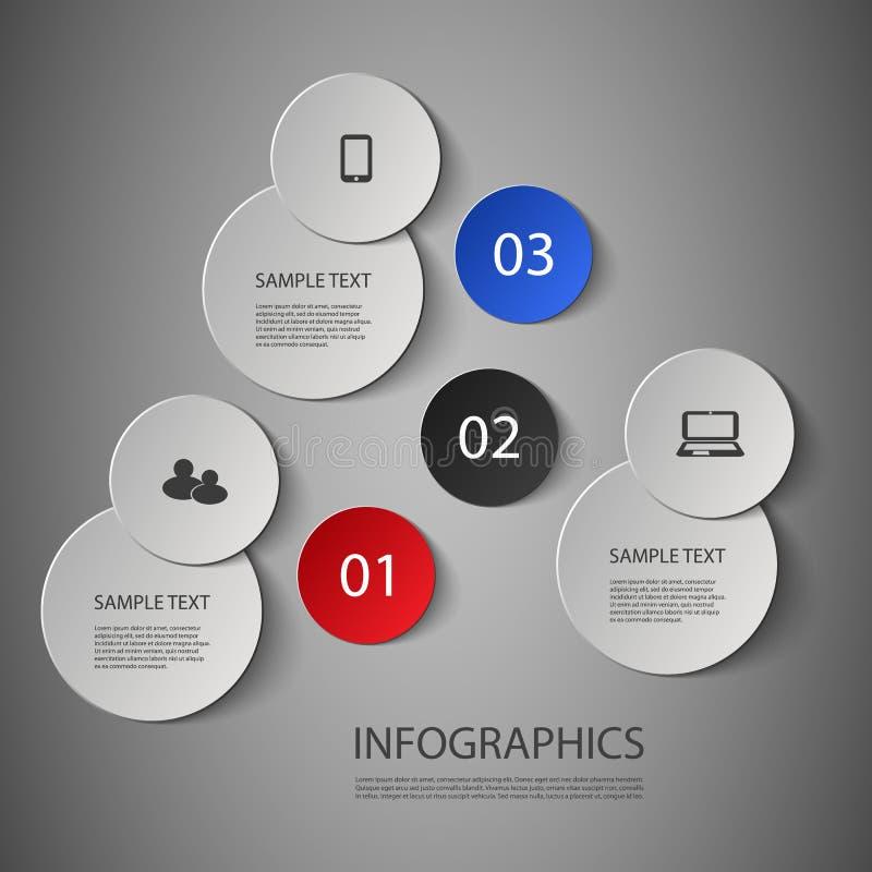 Шаблон дизайна Infographic иллюстрация вектора