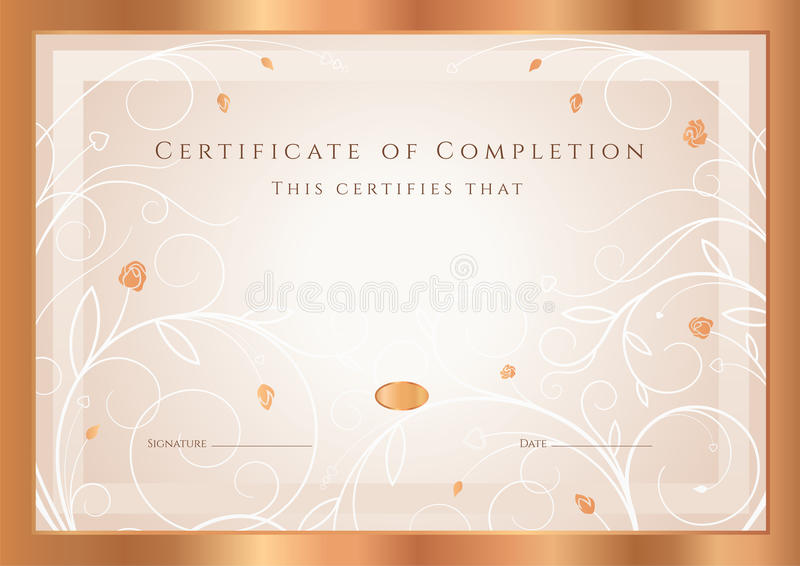 Шаблон награды сертификата диплома Рамка Стоковое Фото   Шаблон награды сертификата диплома Рамка Стоковое Фото изображение 34833212
