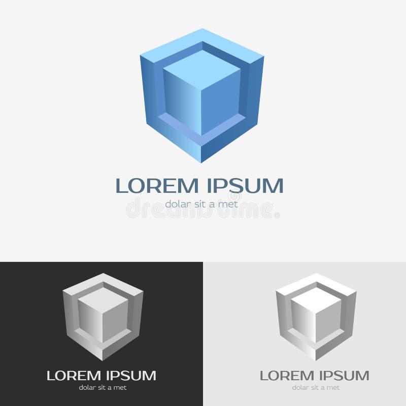 Шаблон логотипа технологии иллюстрация штока