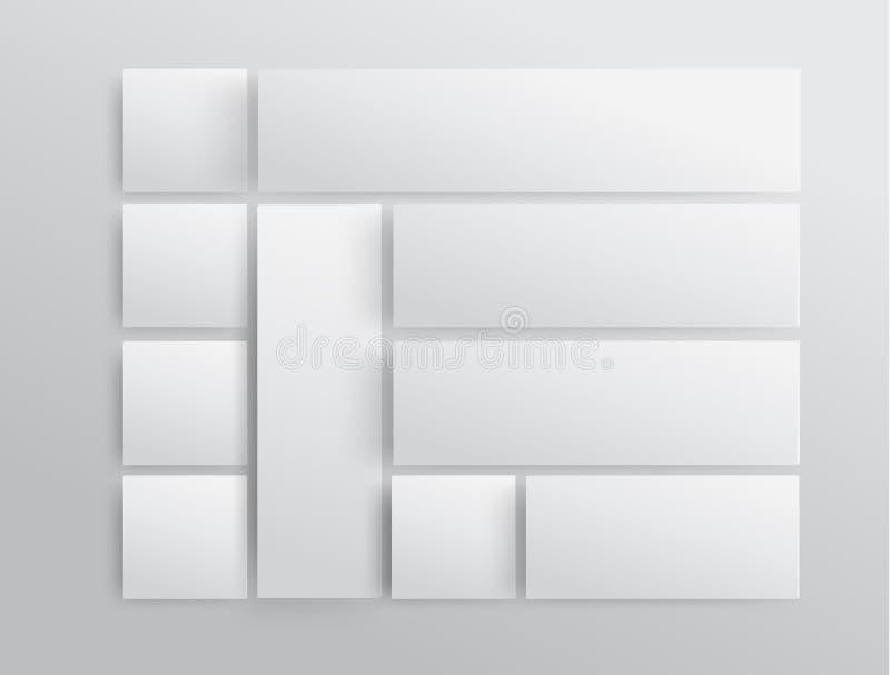 Шаблон современного дизайна вектора иллюстрация штока