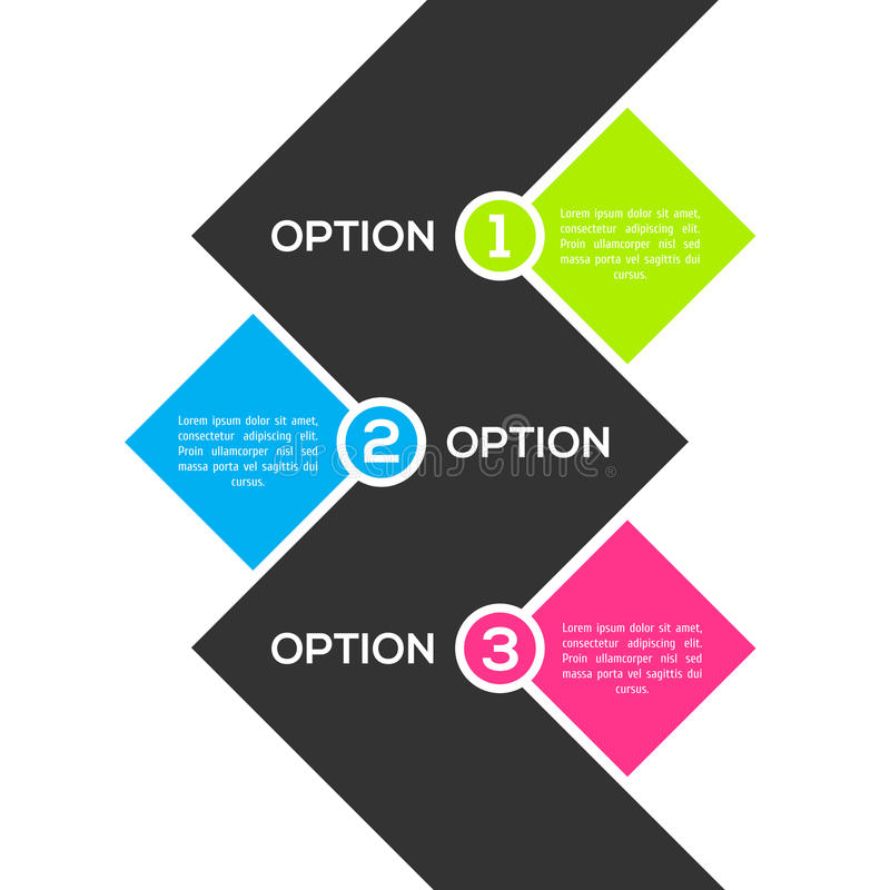 Шаблон современного ftat infographic бесплатная иллюстрация