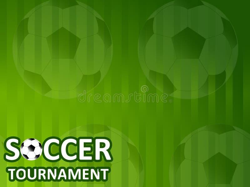 Шаблон для турнира футбола приглашения бесплатная иллюстрация