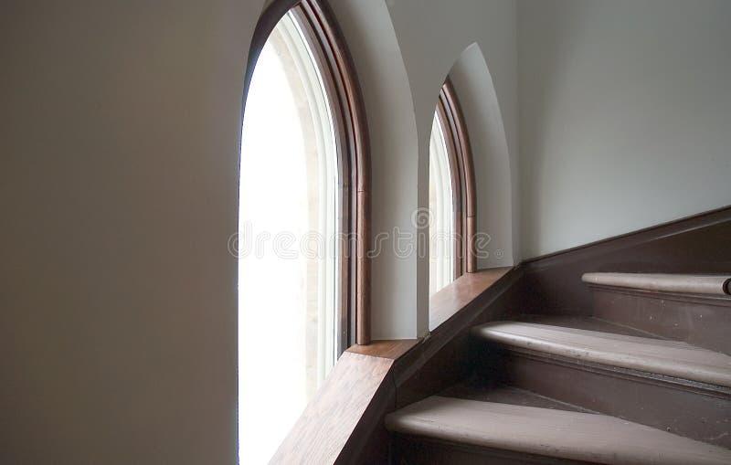 шагают окна Стоковые Изображения