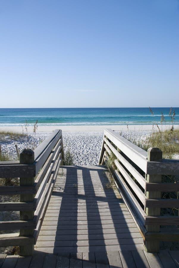 шаги берега залива к стоковая фотография