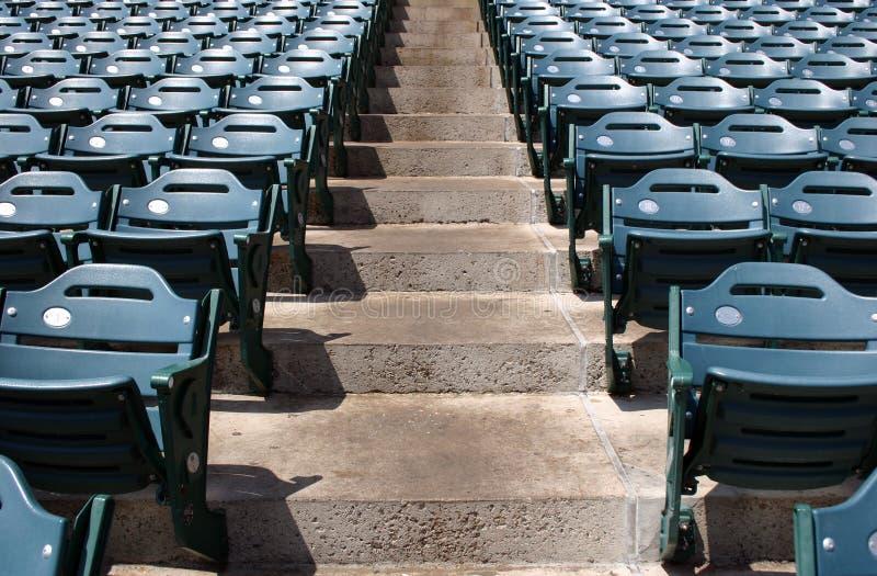шаги стадиона стоковое изображение rf