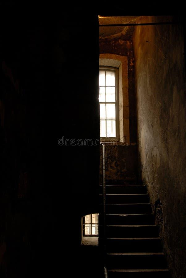 шаги тюрьмы стоковое фото