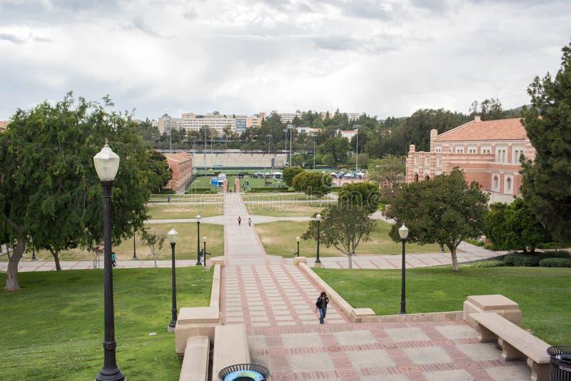 Шаги Janss на UCLA стоковое фото