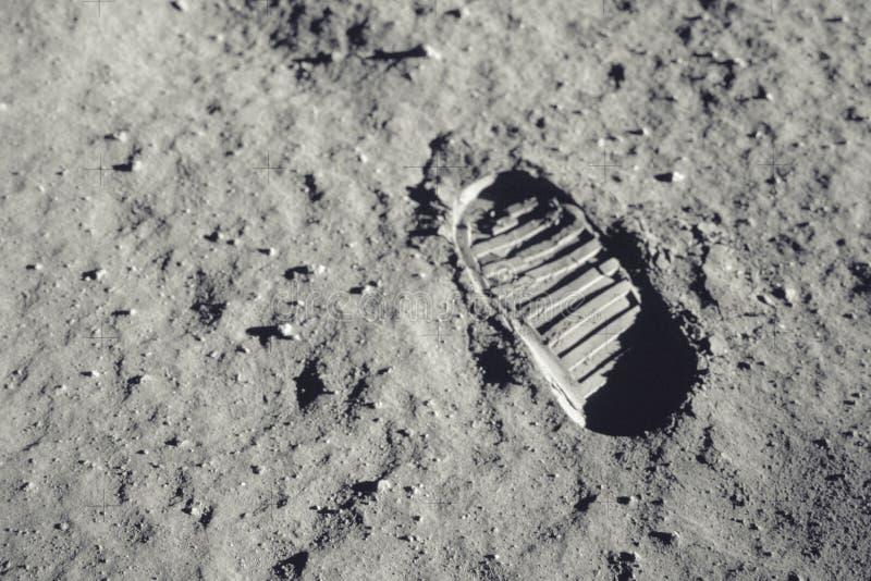Шаг на луну стоковые изображения