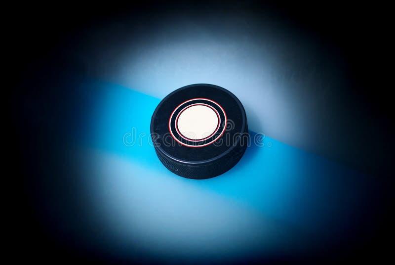 шайба хоккея стоковое фото