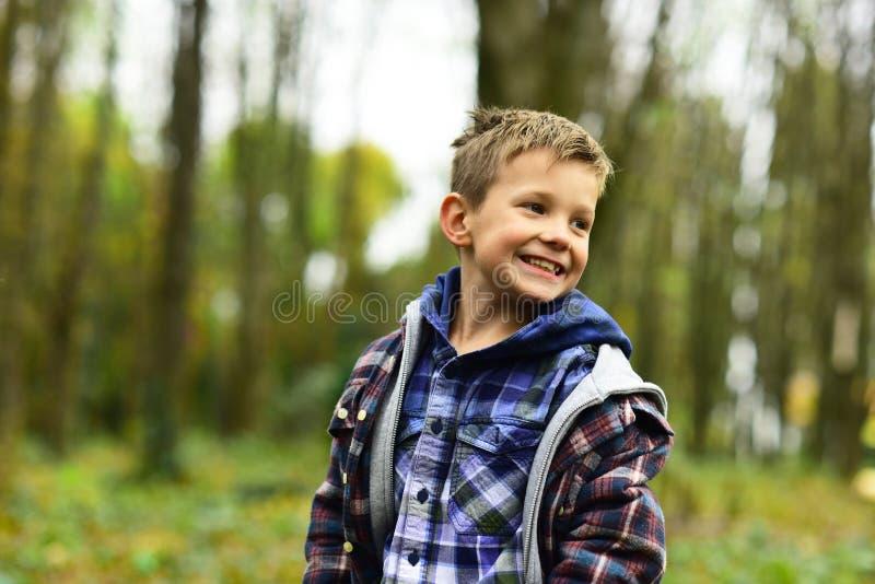Шаловливый и живой мальчик шаловливый Небольшой мальчик с шаловливой улыбкой Небольшой ребенок в шаловливом настроении Сыграйте п стоковое фото rf