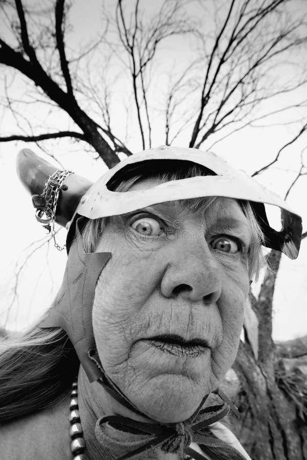шальная повелительница viking стоковая фотография rf