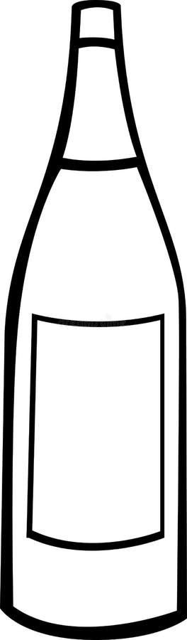 шампанское бутылки бесплатная иллюстрация