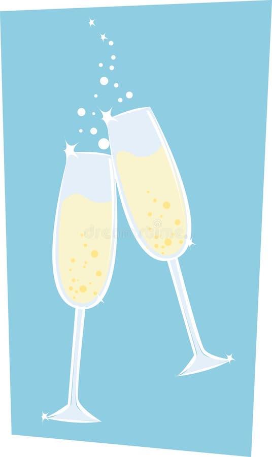шампанское бесплатная иллюстрация