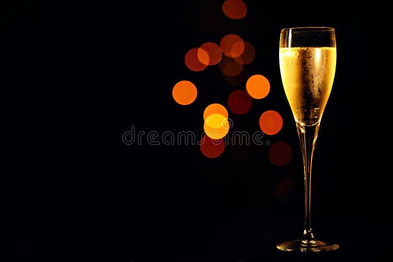 Шампань в стекле стоковое изображение